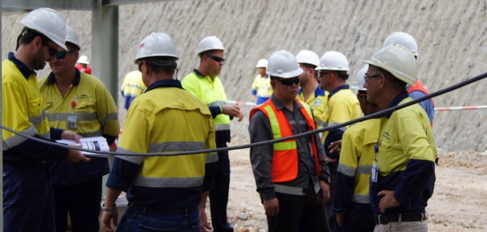 Minerals process plant OH&S training