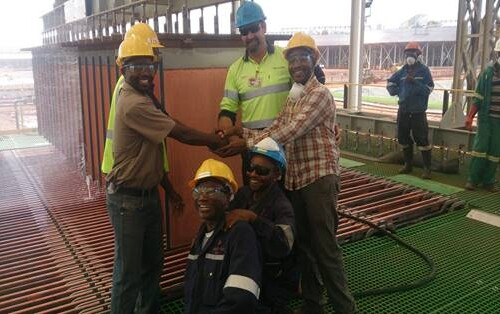 Copper SX/EW plant operator training Africa