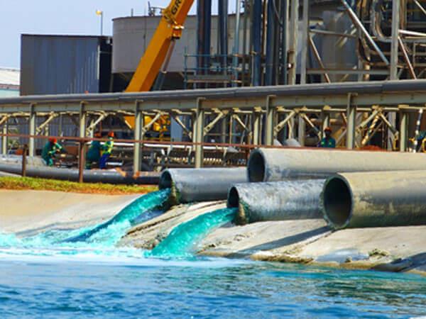 Minerals process plant construction